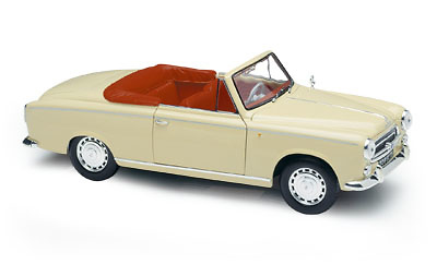Peugeot 403 Cabriolet (1959) Solido 8165 1/18