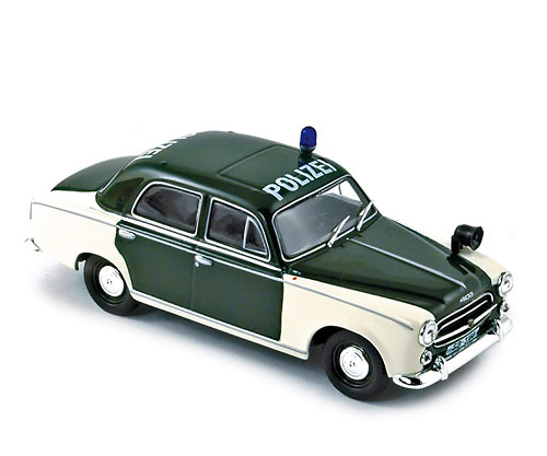 Peugeot 403 Policía (1959) Norev 474330 1/43