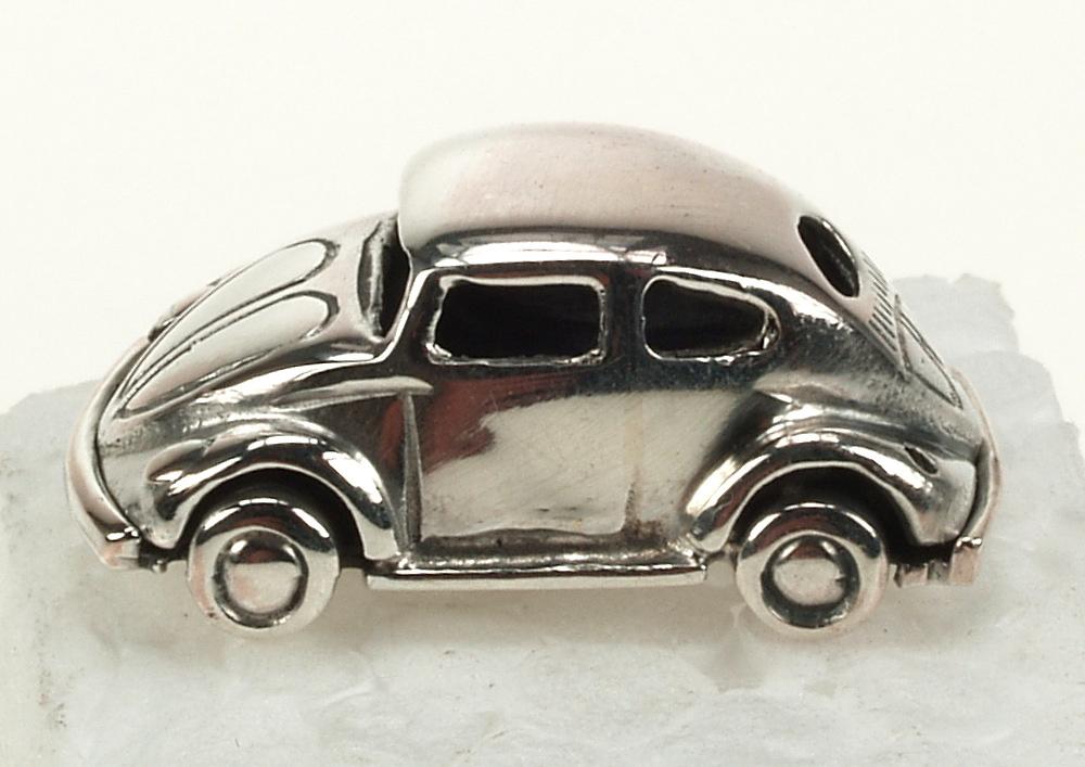Pin Volkswagen Escarabajo Plata de 1ª Ley