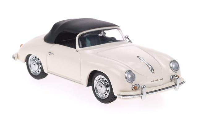 Porsche 356A Cabriolet Abierto (1955) Schuco 1/43