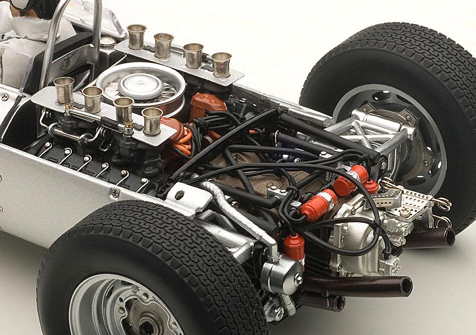 Porsche 804 F1 GP. Alemania nº 8 Jo Bonnier (1962) Autoart 86274 1:18