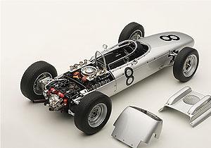 Porsche 804 F1 GP. Alemania nº 8 Jo Bonnier (1962) Autoart 86272 1:18