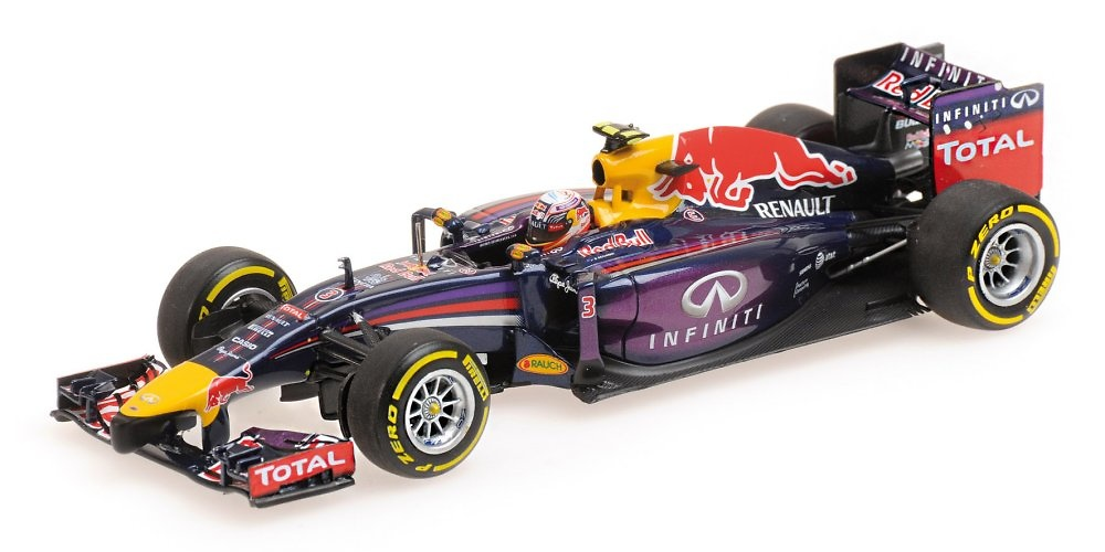 Red Bull RB10 nº 3 Daniel Ricciardo (2014) Minichamps 410140003 1:43