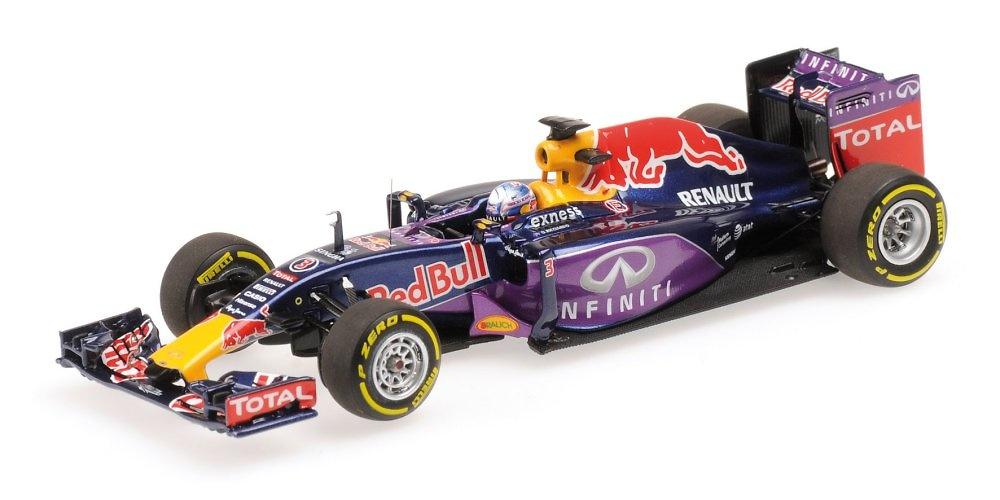 Red Bull RB11 nº 3 Daniel Ricciardo (2015) Minichamps 417150003 1:43