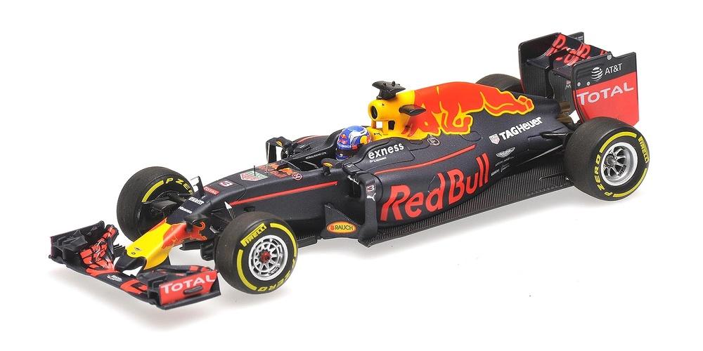 Red Bull RB12 nº 3 Daniel Ricciardo (2016) Minichamps 417160003 1:43