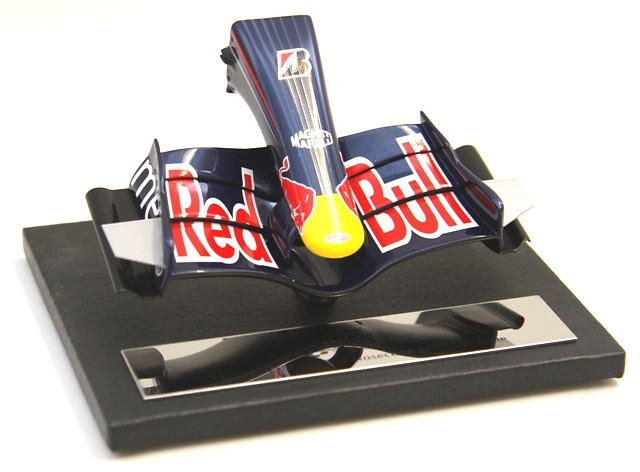 Red Bull RB3 Frontal del monoplaza (2007) Amalagam M5165 1/12