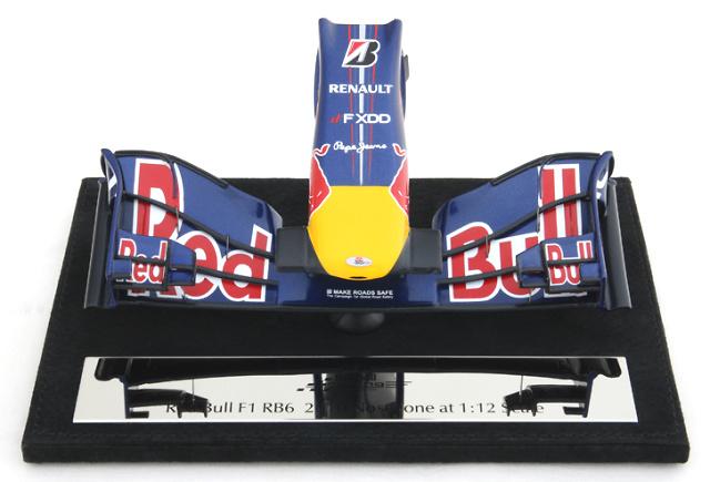 Red Bull RB6 Frontal del Monoplaza (2010) Amalgam M5417 1/12