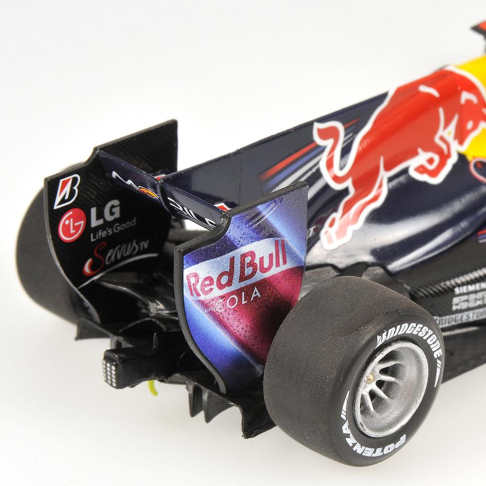 Red Bull RB6 nº 5 Sebastian Vettel (2010) Minichamps 410100005 1/43