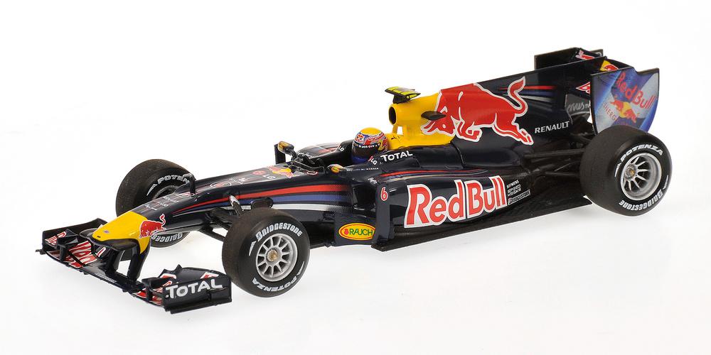 Red Bull RB6 nº 6 Mark Webber (2010) Minichamps 1/43
