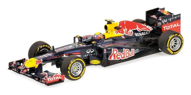 Red Bull RB8 nº 2 Mark Webber (2012) Minichamps 1/43