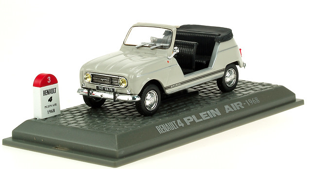 Renault 4L Descapotable