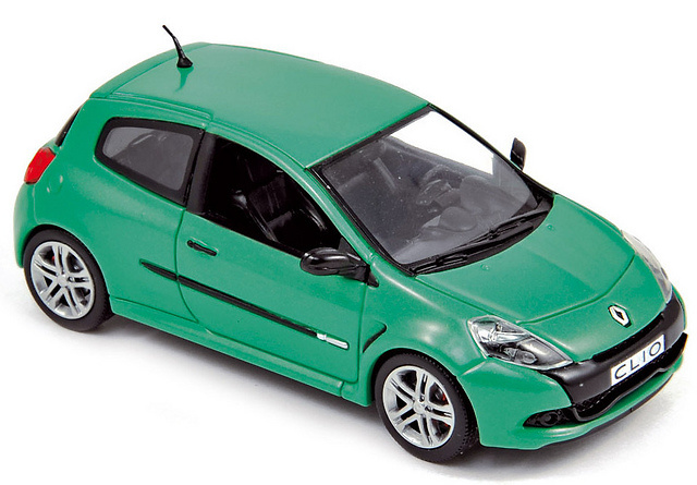 Renault Clio RS Serie 3 (2009) Norev 517592 1/43