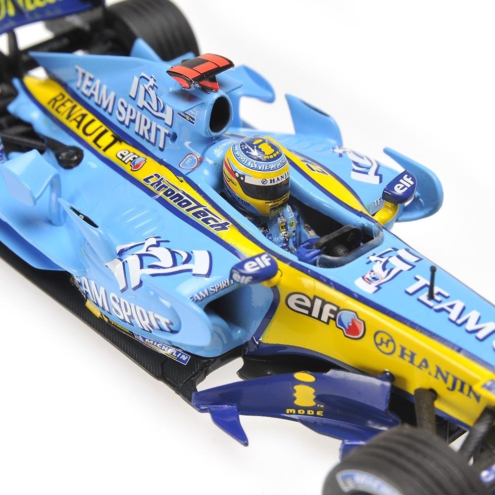 Renault R26 nº 1 Fernando Alonso (2006) Minichamps 436060001 1/43