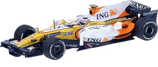 Renault R28 nº 6 Nelson Piquet Jr. (2008) Minichamps 1/43