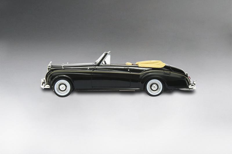 Rolls Royce Silver Cloud II Drophead (1961) True Scale Models TSM124369 1/43