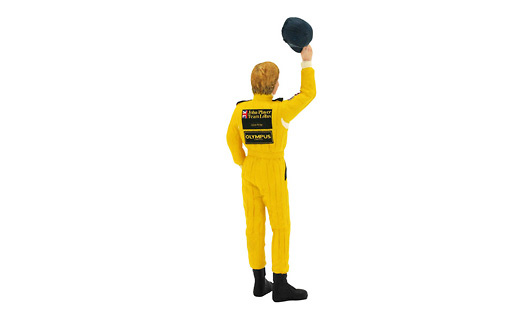 Ronnie Peterson Figura Tipo I Team Lotus (1978) True Scale TSM12AC18 1/18