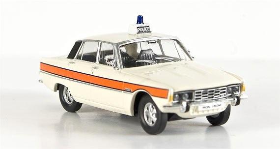 Rover P6 Police (1963) Brekina 1/87