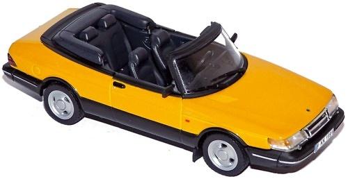Saab 900 Cabrio Turbo 16S (1991) Norev 1/43