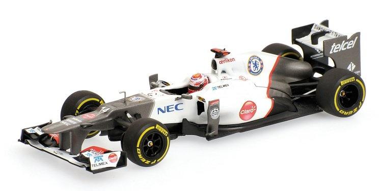 Sauber C31 nº 14 Kamui Kobayashi (2012) Minichamps 1:43