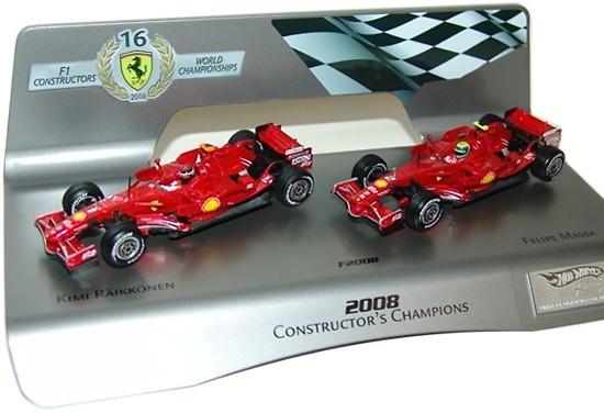 Set de 2 Ferrari