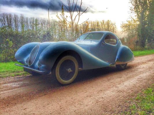 Talbot Lago Coupé Tipo 150SS Figoni & Falaschi -Teardrop- (1937) CMC M145 1:18