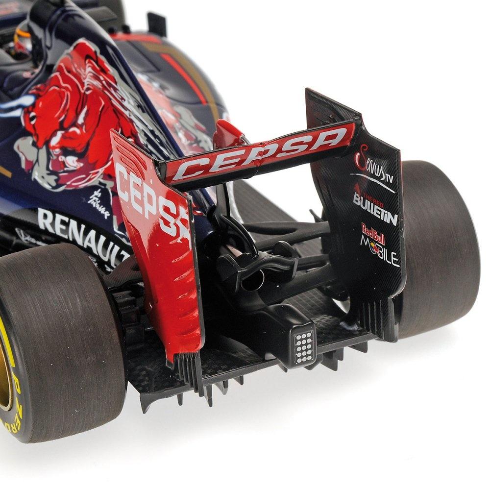 Toro Rosso STR10 nº 55 Carlos Sainz JR. (2015) Minichamps 117150055 1:18