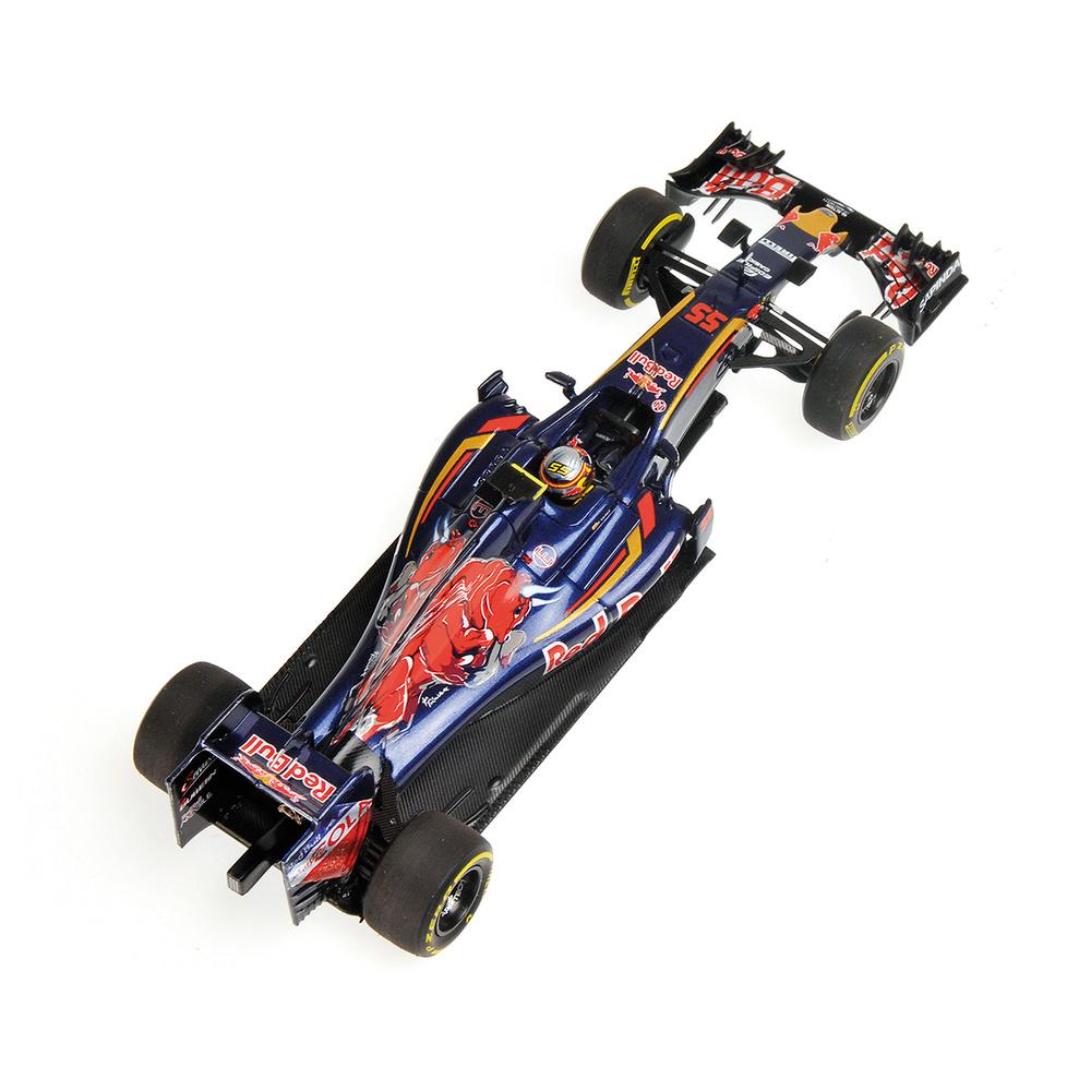 Toro Rosso STR11 nº 55 Carlos Sainz (2016) Minichamps 417160055 1:43