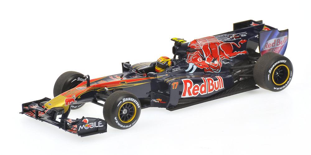 Toro Rosso STR5 nº 17 Jaime Alguersuari (2010) Minichamps 1/43