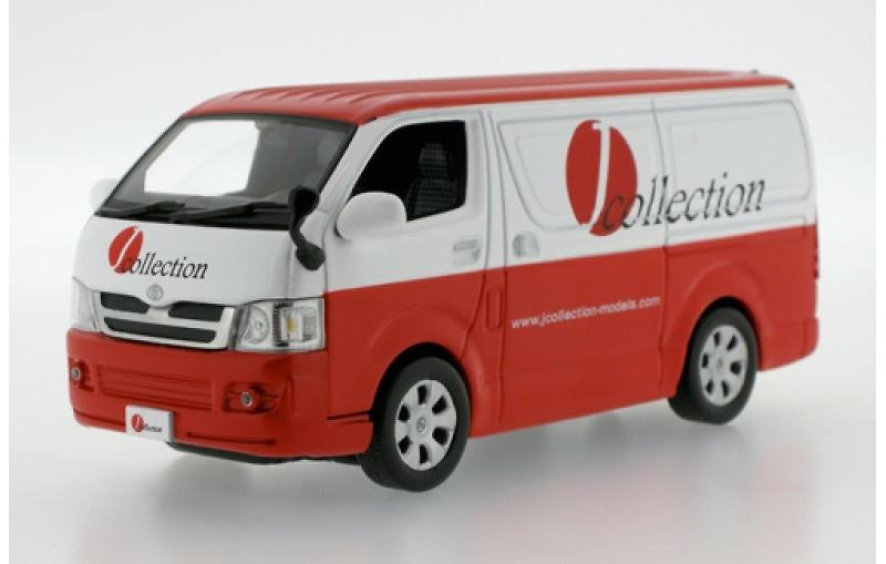 Toyota Hiace Van (2007) Furgoneta Ixo JC132 1/43