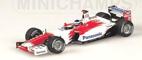 Toyota TF103 Showcar nº 20 Olivier Panis (2003) Minichamps 400030070 1/43