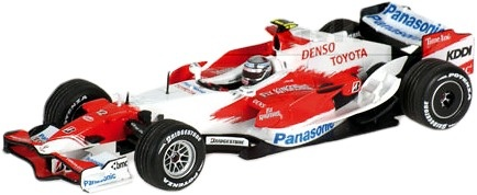 Toyota TF107 nº 12 Jarno Trulli (2007) Minichamps 400070012 1/43