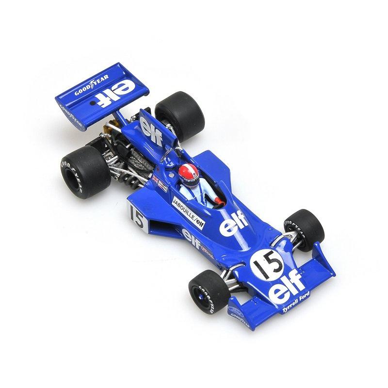 Tyrrell 007 nº 15 Jean Pierre Jabouille (1975) Minichamps 400750015 1:43
