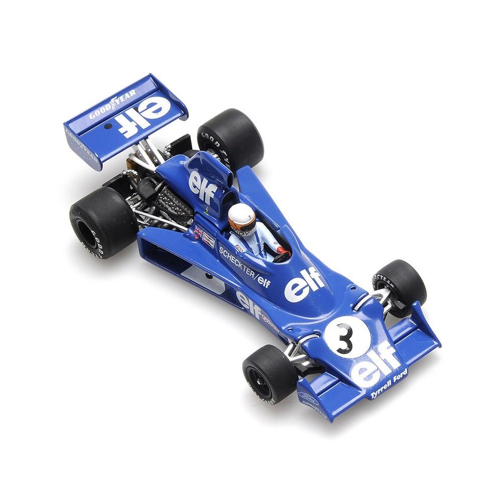 Tyrrell 007 nº 3 Jody Scheckter (1975) Minichamps 400750003 1/43