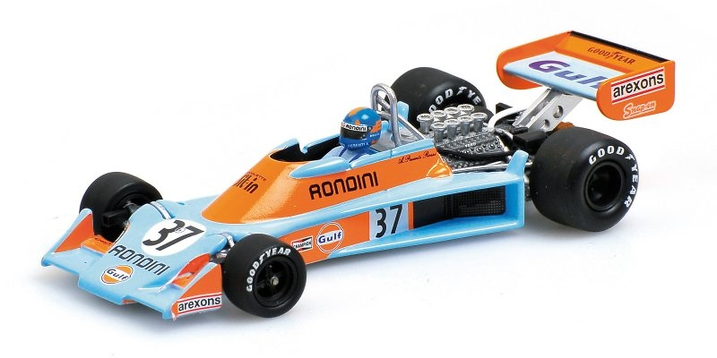 Tyrrell 007 nº 37 Alesandro Pesenti (1976) Minichamps 400760037 1:43
