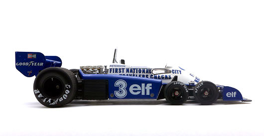 Tyrrell P34 GP. Bélgica nº 3 Ronnie Peterson (1977) True Scale TSM141808 1:18
