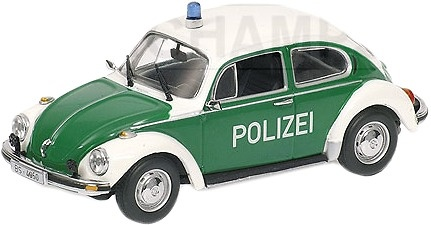 vw 1303 policia braunschweig 1972 minichamps 1 43 men temas de colecci n policia men. Black Bedroom Furniture Sets. Home Design Ideas