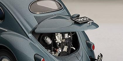 Volkswagen Escarabajo Limousine (1955) Autoart 79779 1/18