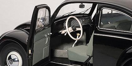 Volkswagen Escarabajo Limousine (1955) Autoart 79776 1/18