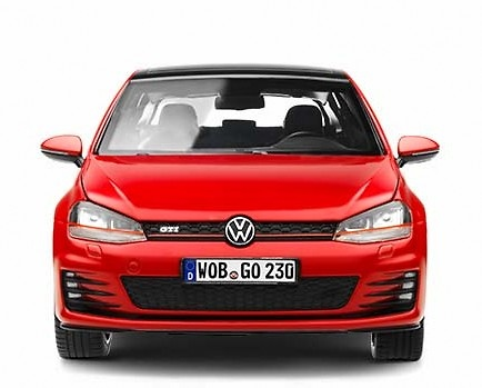 Volkswagen Golf GTi VII (2012) Norev 5G3099302BFC 1:18
