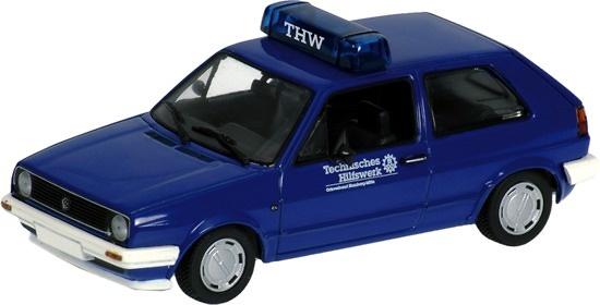 Volkswagen Golf Serie II THW (1985) Minichamps 400054190 1/43