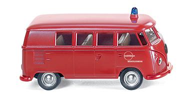 Volkswagen T1 Furgoneta Bomberos Wiking 8611428 1/87