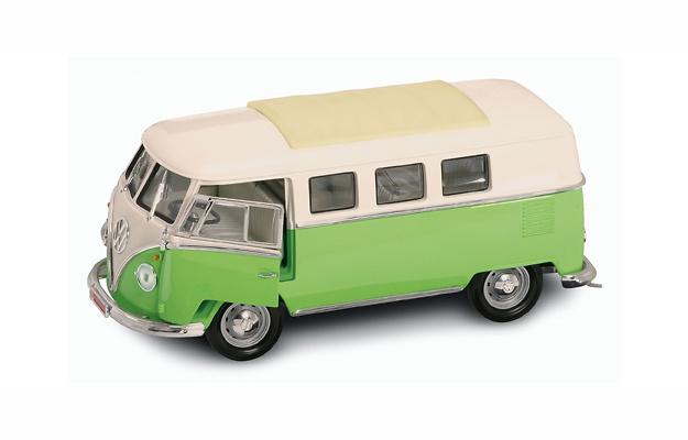 Volkswagen T1 Microbus Techo Cerrado (1962) Lucky Die Cast 92328 1:18