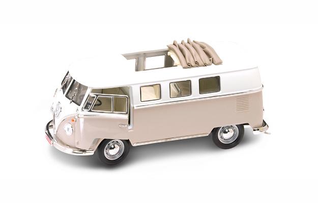 Volkswagen T1 Microbus Techo Operativo (1962) Lucky Die Cast 92327 1:18