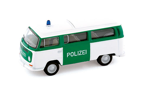 Volkswagen T2a Combi Policia Bub 08752 1/87
