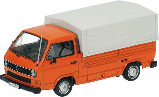 Volkswagen T3 (1979) Caja Abierta con toldo Minichamps 400055200 1/43