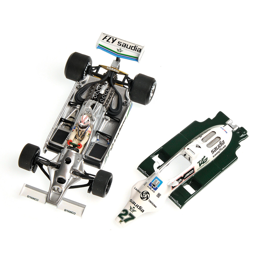 Williams FW07B nº 27 Alan Jones (1980) Minichamps 436800027 1/43