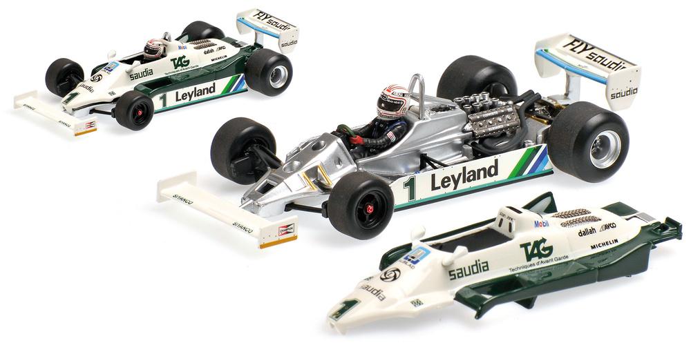 Williams FW07C nº 1 Alan Jones (1981) Minichamps 400810001 1:43