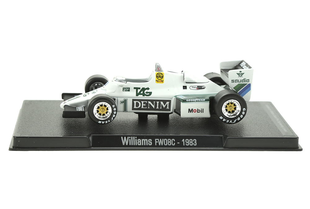 Williams FW08C nº 1 Keke Rosberg (1983) Sol90 11245 1:43