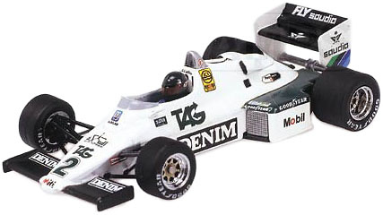 Williams FW08C nº 2 Jacques Laffite (1983) Minichamps 1/43