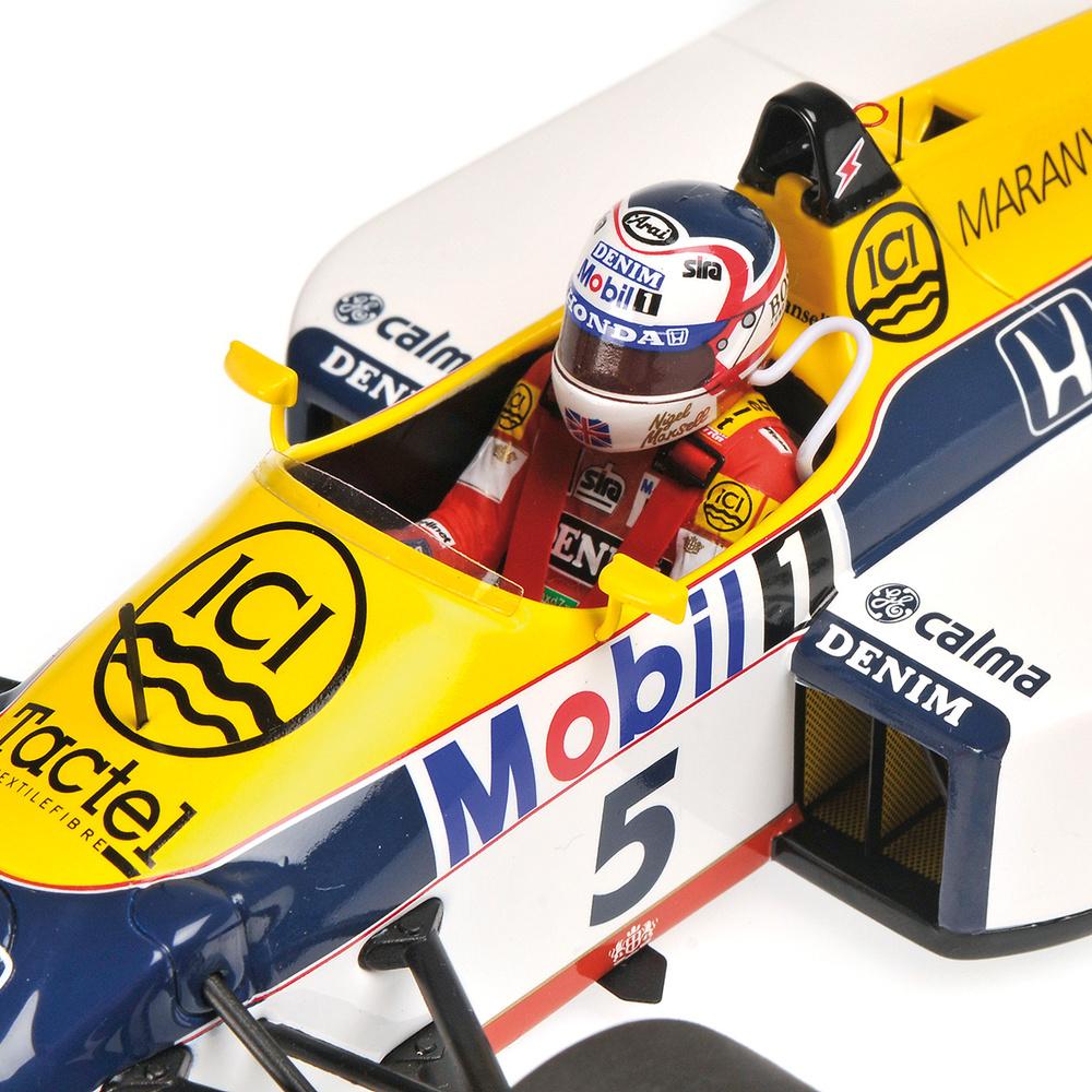 Williams FW11B nº 5 Nigel Mansell (1987) Minichamps 117870005 1:18